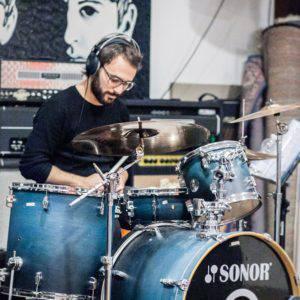 Filippo Parisotto Batterista degli IVY Elisa Tribute Band